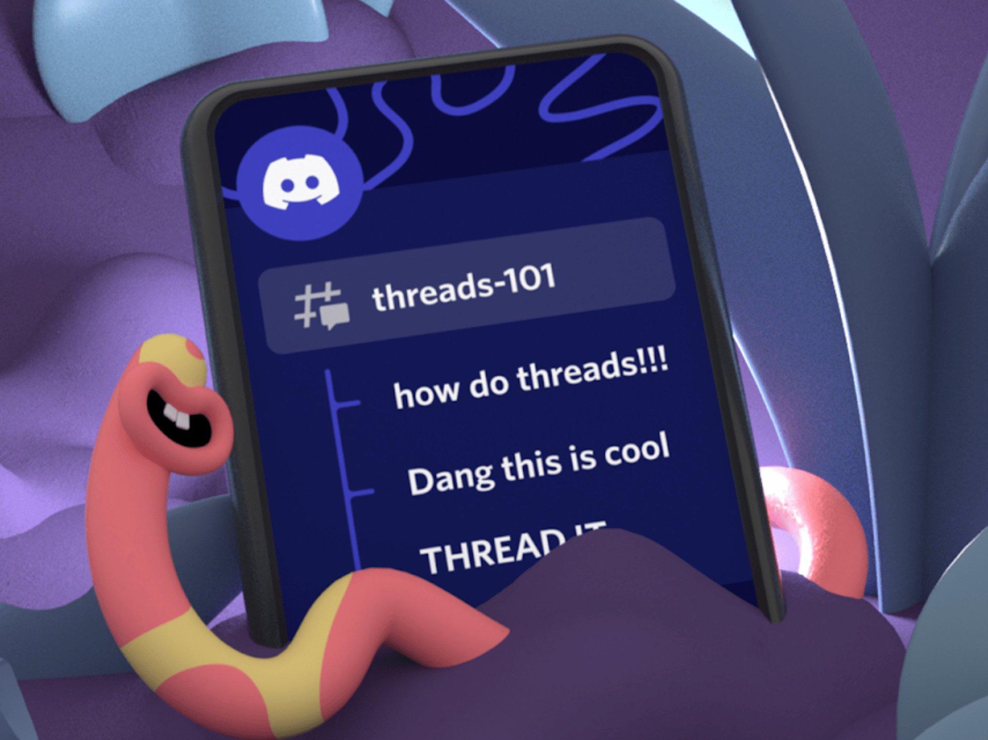 Discord adds Threads feature
