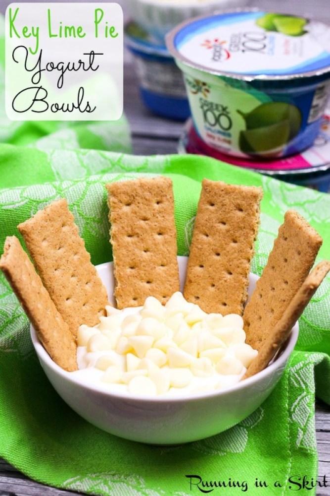 Key Lime Pie Yogurt Bowls