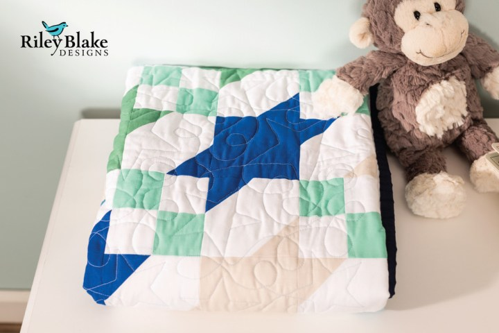 Beautiful Shoot Stars Quilt in Cricut Design Space