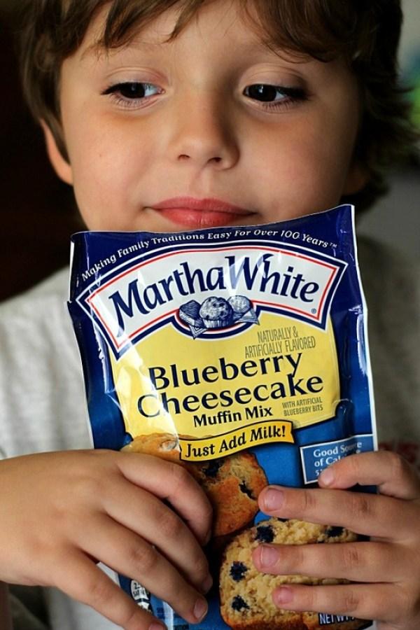 Dean loves Martha White Muffins