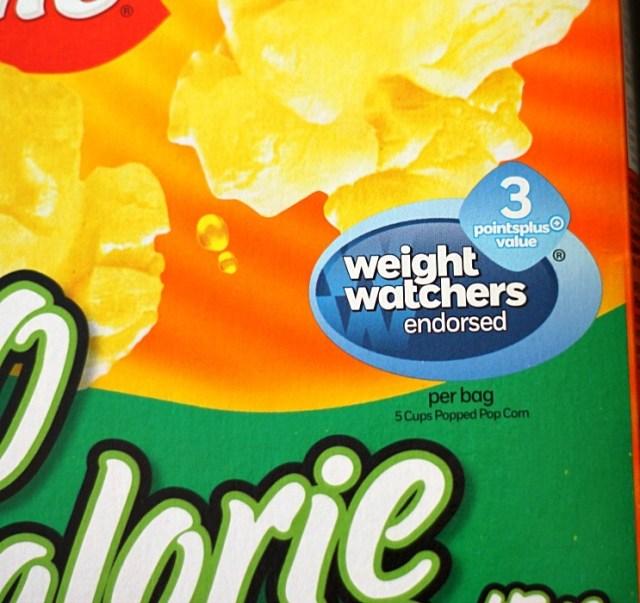 Weight Watchers endorsed