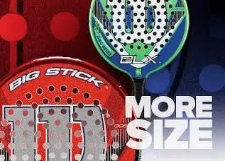 platform tennis racket head size