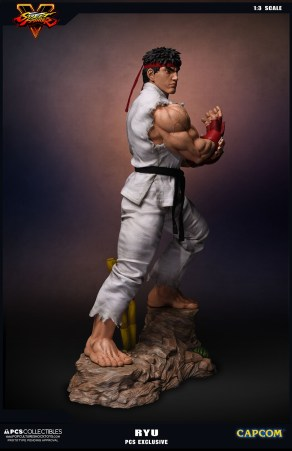 PCS Collectibles Street Fighter V Ryu Statue 5