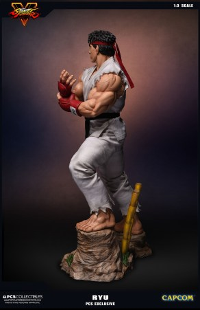 PCS Collectibles Street Fighter V Ryu Statue 8