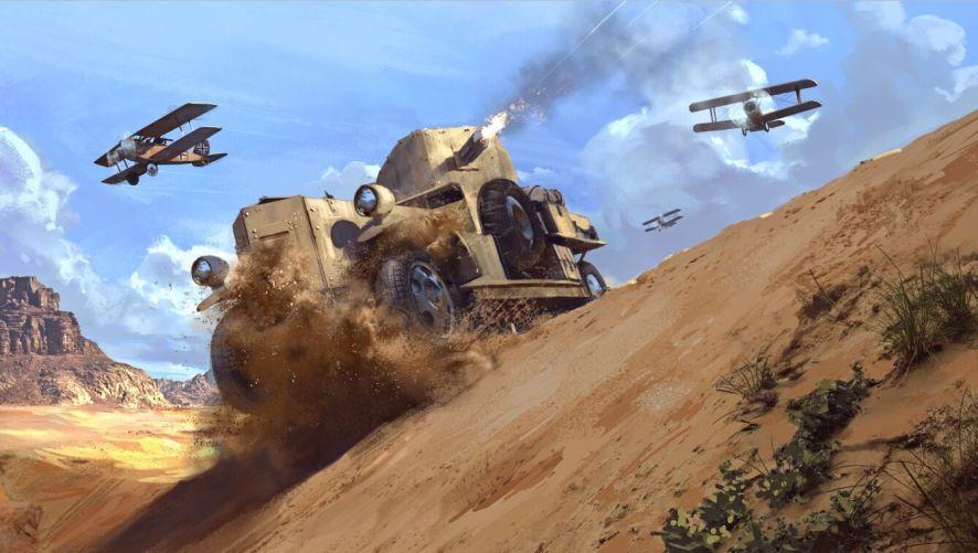 Battlefield 1 Arabia Concept Art 1