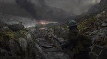 Battlefield 1 Trench Concept Art