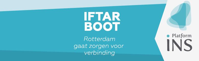 Rotterdamse Iftarboot voor verbinding 2019