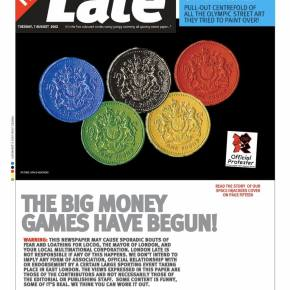 London Late - The Big Money Games