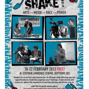 Who shook the Shakers? The influences behind the upcoming arts, race, media and power course