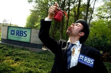 RBS Tar Sands protest