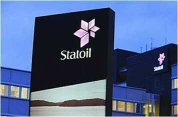 Statoil kontor og logo