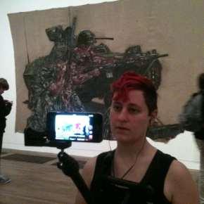 Liberate Tate perform BP trial all week in Tate Modern - #AllRise