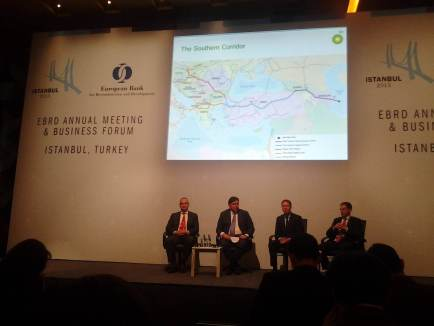 Al Cook drools over international pipelines at the EBRD