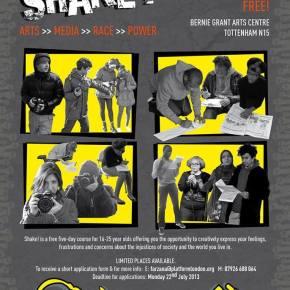 Applications open: Shake! Arts >> Media >> Race >> Power
