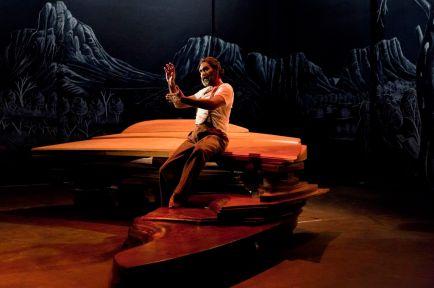 Trevor Jamieson / Namatjira performance