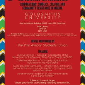 African Uprisings: Corporations, Conflict, Culture And Community Resistance in Nigeria