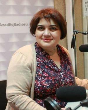Khadija at work