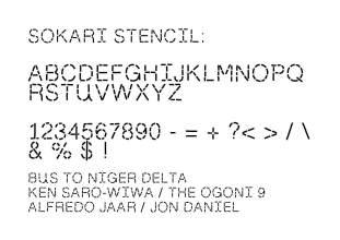 SOKARI_STENCIL_FONT