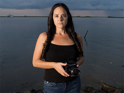 Monique Verdin - photographer & activist, United Houma Nation, Louisiana, USA