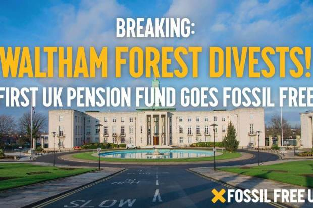 First UK Pension Fund divests 100% from fossil fuels