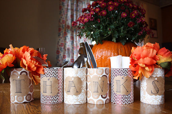 Craft: Easy Thanksgiving Decor