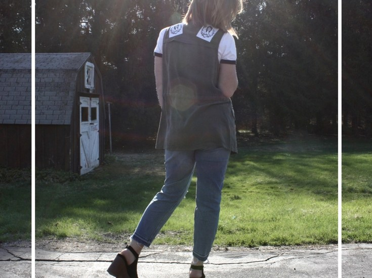 DIY: Summer Patch Vest with Bettyratbag