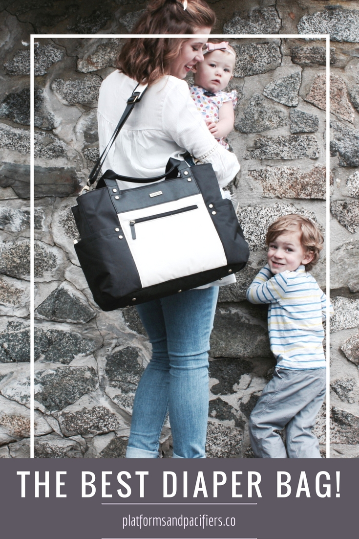My Diaper Bag Essentials for Two with JJ Cole