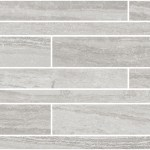 Travertino Grey Brick Wall Mosaic