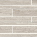 Travertino Taupe Brick Wall Mosaic