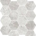 Grey Marble Hexagon Mosaic