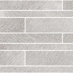 Incisa Grey Brick Wall Mosaic