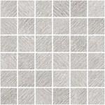 "Incisa Grey 2"" x 2"" Mosaic"