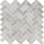 Limestone Grey Herringbone Mosaic