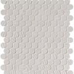 Bianco Round Mosaico