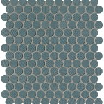 Blu Round Mosaico