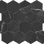 Calacatta Black Mosaic D