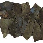 Marvel Brazil Green Mosaico Leaf Lappato A+B