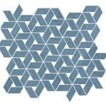 Raw Blue Mosaico Twist WALL