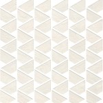 Raw White Mosaico Flag WALL
