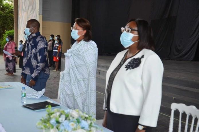 Combate à covid-19 e à malária junta em workshop mulheres religiosas e de partidos políticos