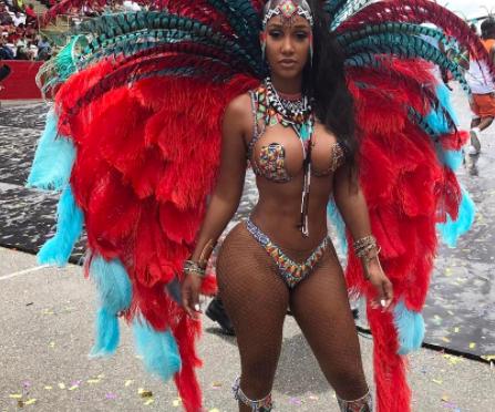 Bernice Burgos + Trinidad Carnival =