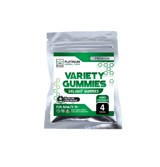 CBD Variety Gummies - Triple Strength (150mg) Buy Online Canada