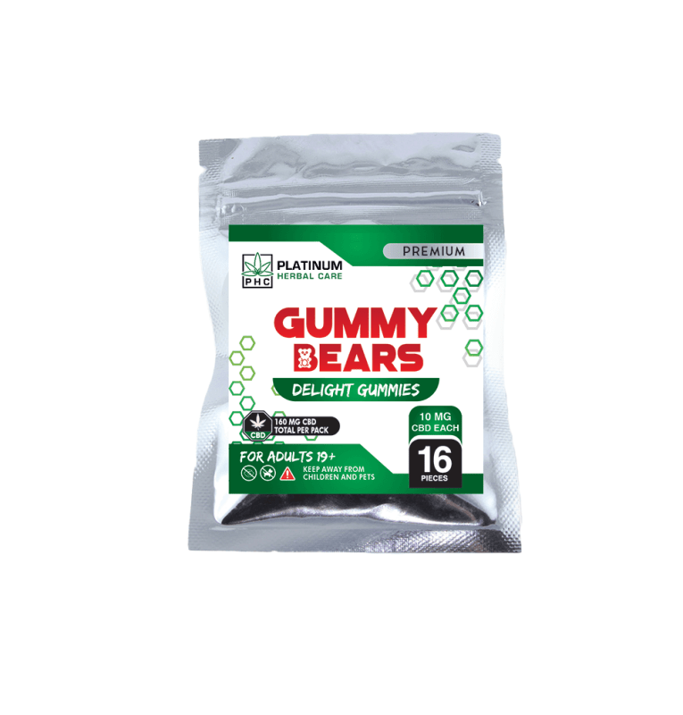 CBD Gummy Bears - Triple Strength (150mg) Buy Online Canada