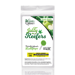 Jolly Reefers Apple Lollipops CBD (50mg)