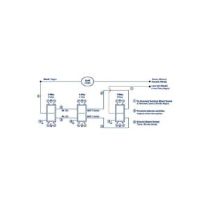Leviton Decora 15 AMP 4Way Intermediate Rocker Switch