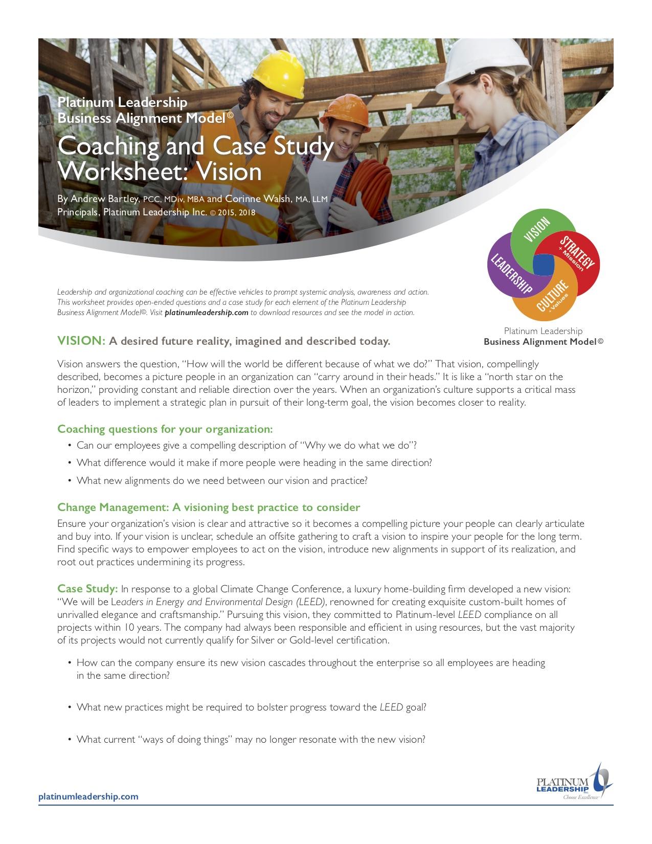 Portfolio And Resources Platinum Leadership