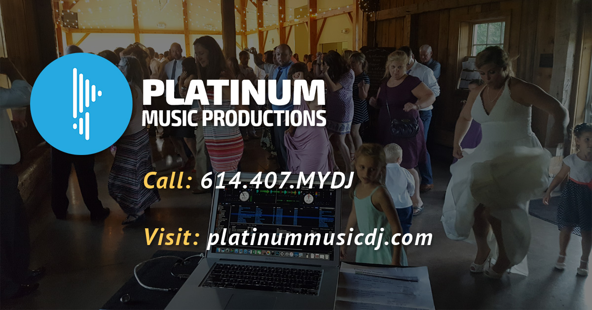 Platinum Music Productions | Your Columbus Wedding DJs since