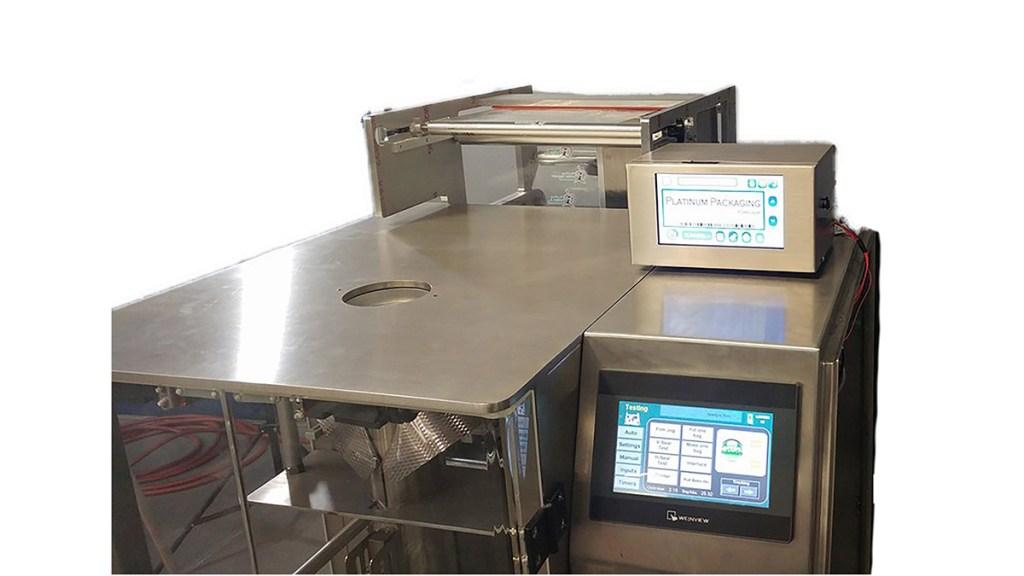 Thermal Printer On A Bagger