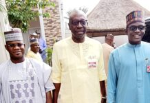 Governor Bello, Iyamu, Buni