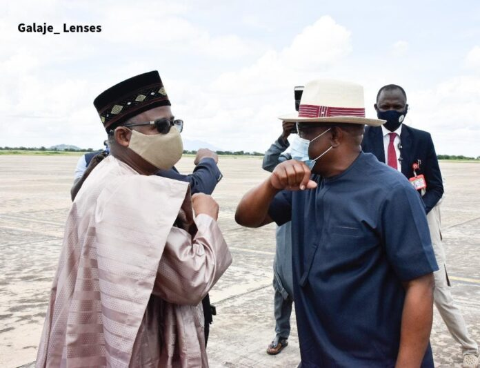 Gov Mohammed and Wike